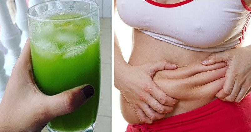 Bebida caseira para queimar a gordura da barriga